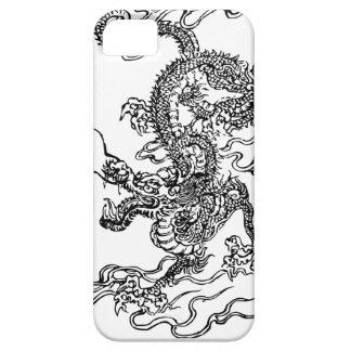 Dragón japonés - en el estilo chino iPhone 5 Case-Mate protectores