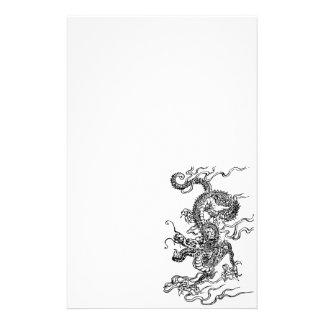 Dragón japonés - en el estilo chino papelería de diseño