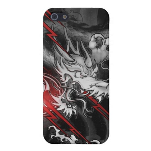 Dragón japonés iPhone 5 carcasas