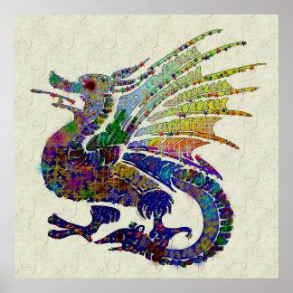 Dragón Jeweled Impresiones