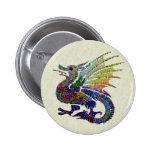 Dragón Jeweled Pin