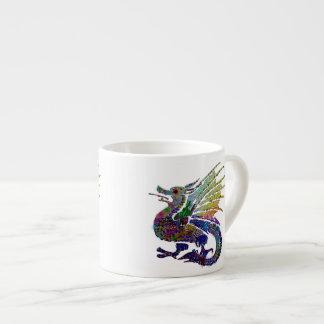 Dragón Jeweled Taza Espresso