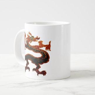 Dragon Jumbo Mug 20 Oz Large Ceramic Coffee Mug