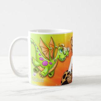 Dragon, Karate, Mummy oh my! cartoon mug