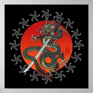 Dragon katana 2 プリント