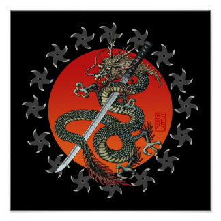 Dragon katana 2 poster