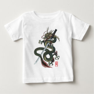 Dragon katana baby T-Shirt