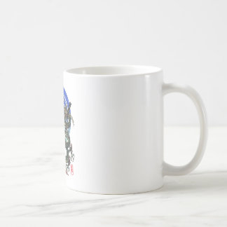 Dragon katana Uesugi Coffee Mug
