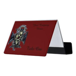 Dragon Keeper Desk Business Card Holder