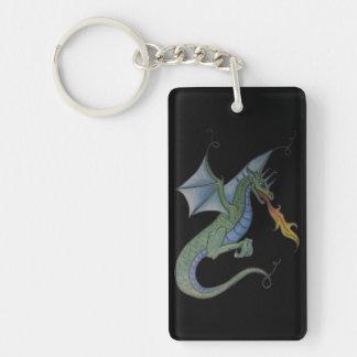 Dragon keychain