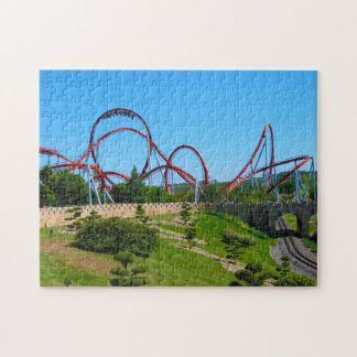 Dragon Khan Roller Coaster Jigsaw Puzzle