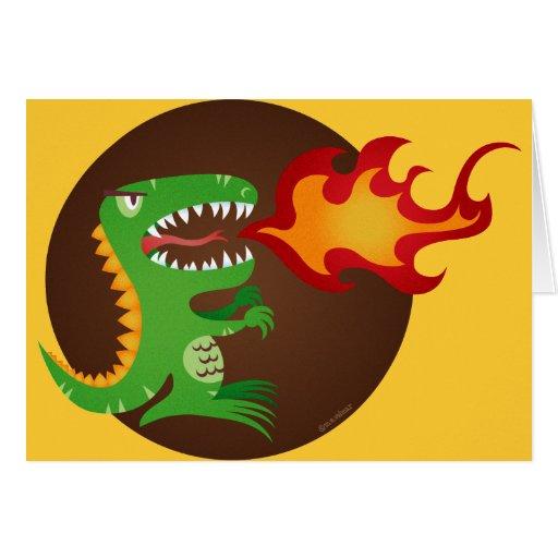 Dragon kids art by little t and M.E. Volmar Card