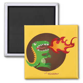 Dragon kids art by little t and M.E. Volmar Magnet