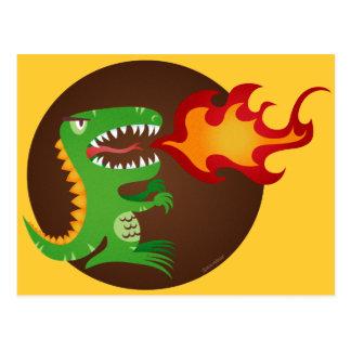Dragon kids art by little t and M.E. Volmar Postcard