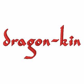 Dragon-kin Gothic fantasy Embroidered Shirt
