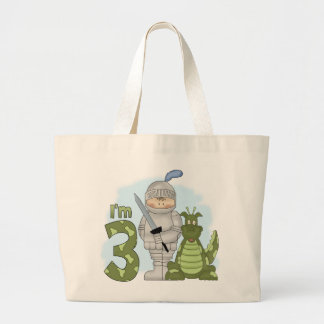 Dragon Knight 3rd Birthday Large Tote Bag