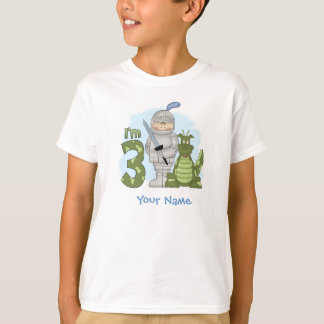 Dragon Knight 3rd Birthday Personalized T-Shirt
