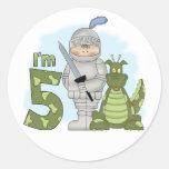 Dragon Knight 5th Birthday Sticker