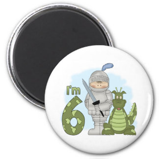 Dragon Knight 6th Birthday Magnet