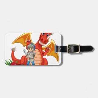 Dragon knight bag tag