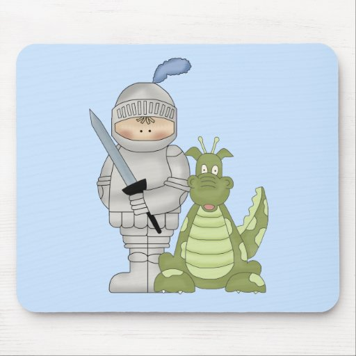Dragon Knight Mouse Pad