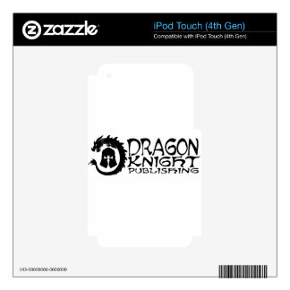 Dragon-Knight Publishing Logo Decals For iPod Touch 4G