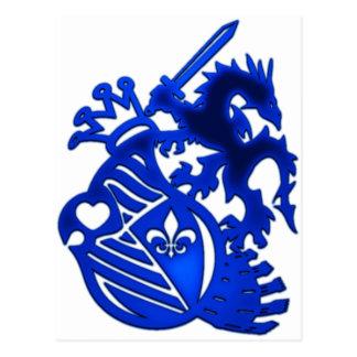Dragon_Knight Tarjeta Postal