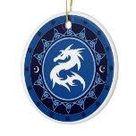 Dragon Knot 1 Ceramic Ornament