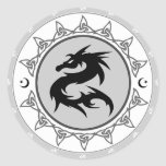 Dragon Knot 4 Stickers