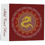Dragon Knot 7 3 Ring Binder