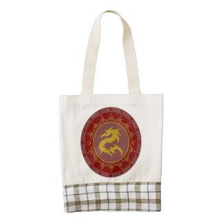 Dragon Knot 7 Zazzle HEART Tote Bag