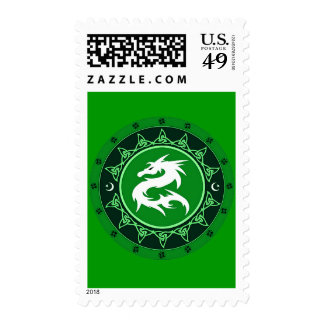 Dragon Knot 8 Stamps
