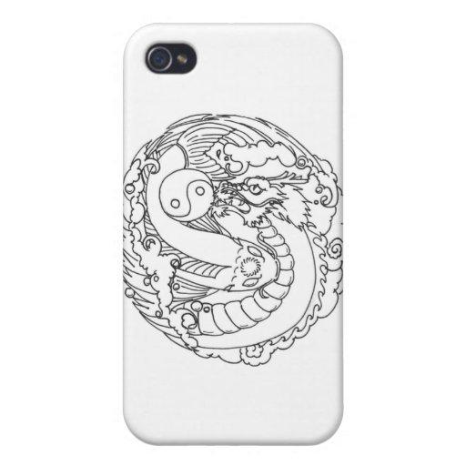 Dragon Koi Battle iPhone 4/4S Case