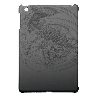 Dragon Koi tattoo Design Cover For The iPad Mini
