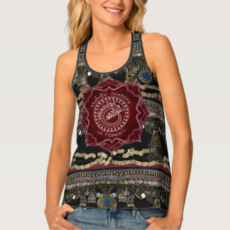 Dragon Kuchi Belly Dance Tank Top