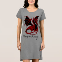 Dragon Lady2 T-Shirt Dress