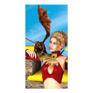 Dragon Lady Card