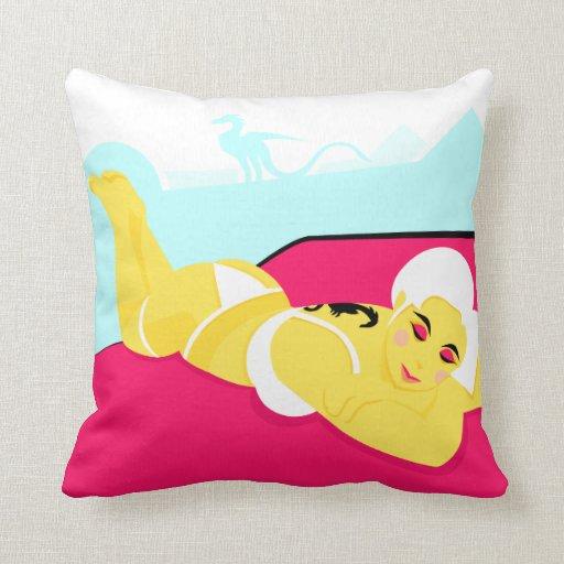 Dragon Lady Pillow