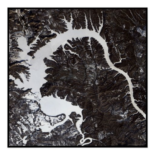Dragon Lake Siberia Print