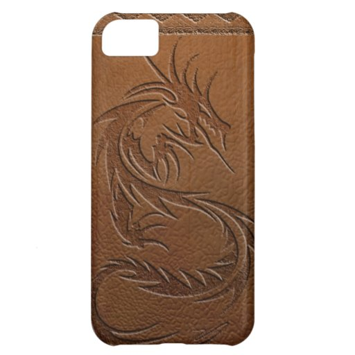 Dragon leather iPhone 5C cover