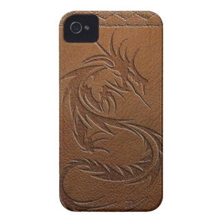 Dragon leather iPhone 4 Case-Mate case