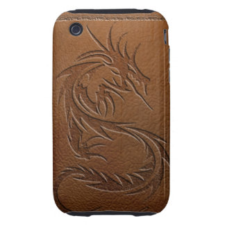 Dragon leather iPhone 3 tough covers