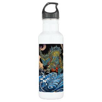 Dragón legendario antiguo japonés oriental fresco