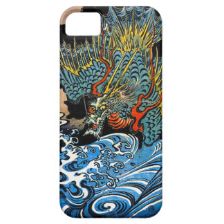 Dragón legendario antiguo japonés oriental fresco iPhone 5 fundas