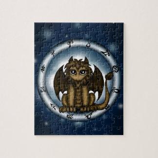 Dragon Leo Zodiac Jigsaw Puzzle