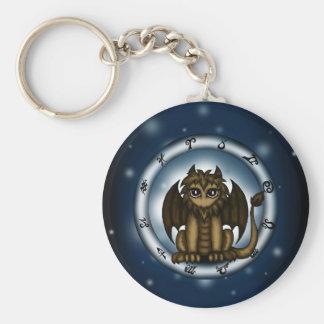 Dragon Leo Zodiac Keychains