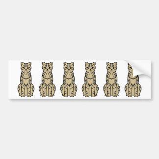 Dragon Li Cat Cartoon Bumper Stickers