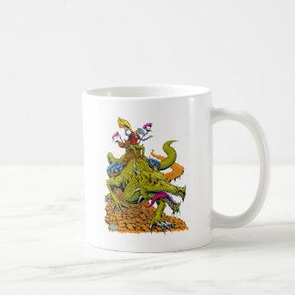 Dragon Library Mug
