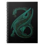 Dragón Libros De Apuntes Con Espiral