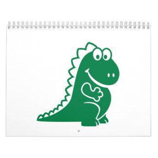 Dragón lindo calendario
